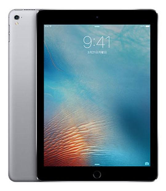 【中古】【安心保証】 SoftBank iPadPro 1ー9.7[セルラー256G] グレイ