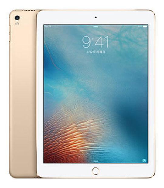 【中古】【安心保証】 SoftBank iPadPro 1ー9.7[セルラー256G] ゴールド
