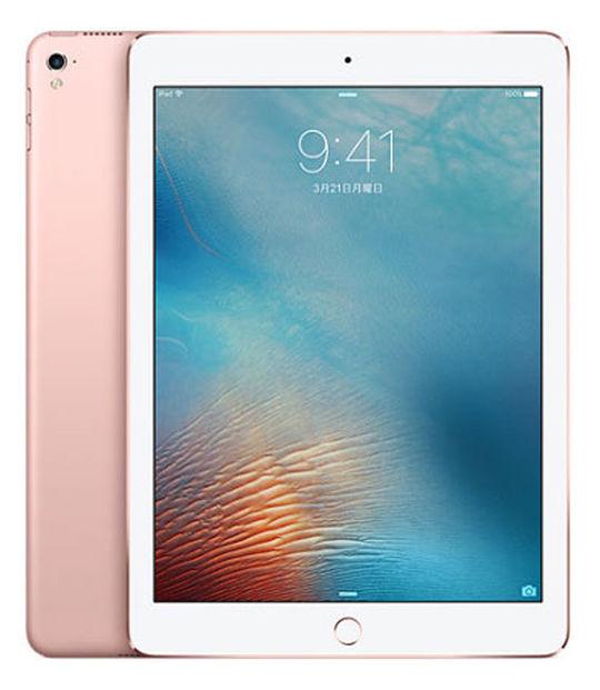 【中古】【安心保証】 iPadPro 1ー9.7[128G] ローズ