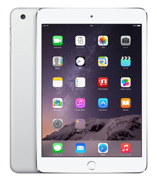 iPadmini3 WiFi+4G 16GB(シルバー)