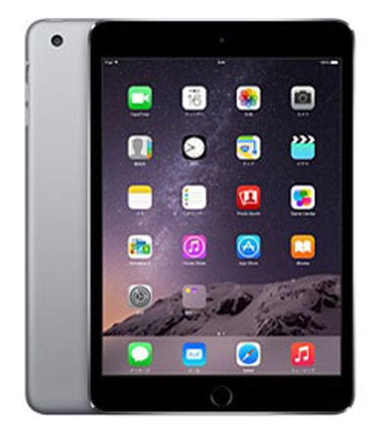 iPadmini3 WiFi+4G SIMフリー 16GB(スペースグレイ)
