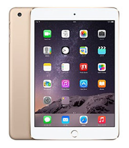 iPadmini3 WiFi+4G SIMフリー 64GB(ゴールド)