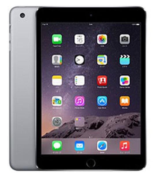 iPadmini3 WiFi+4G SIMフリー 128GB(スペースグレイ)