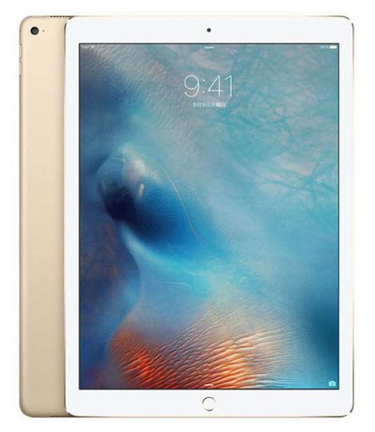 【中古】【安心保証】 SIMフリー iPadPro 1ー12.9[128G] ゴールド
