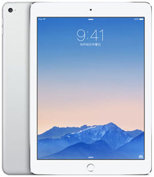 【中古】【安心保証】 au iPadAir_2[4G128GB] シルバー