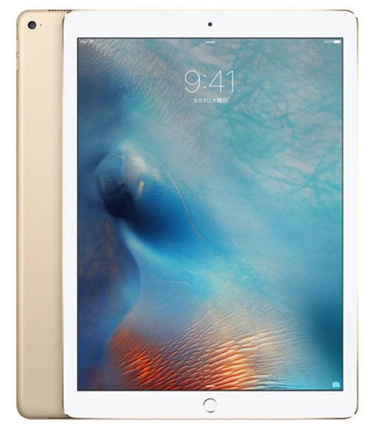 【中古】【安心保証】 au 12.9iPadPro 1[セルラー128G] ゴールド