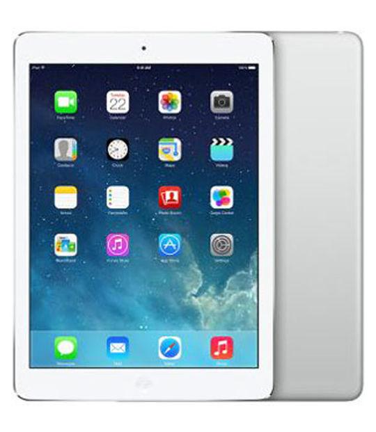 【中古】【安心保証】 SIMフリー iPadAir_5[海外セルラー16GB] シルバー