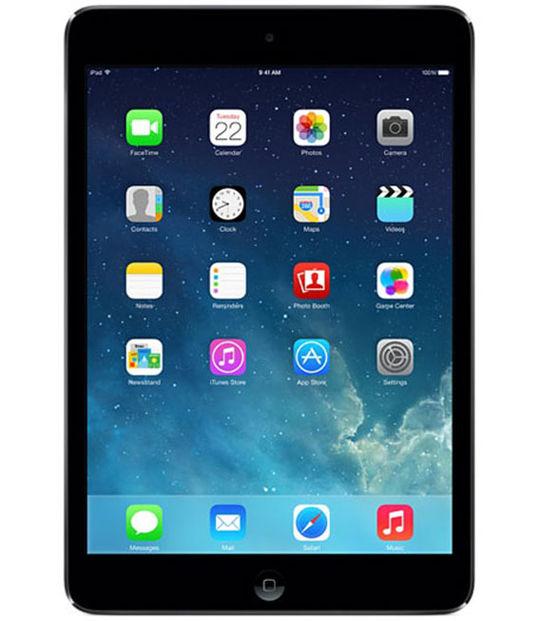 【中古】【安心保証】 iPadmini2[セルラー32G] グレイ
