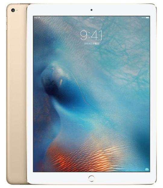 【中古】【安心保証】 SoftBank 12.9iPadPro_1[セルラー128G] ゴールド