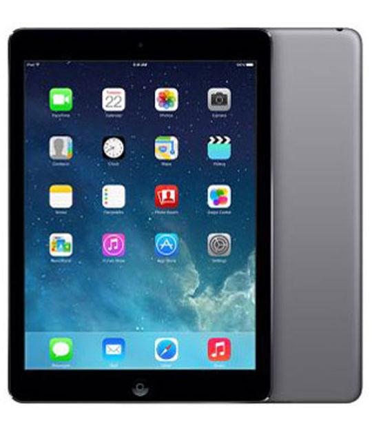 【中古】【安心保証】 docomo iPadAir_5[セルラー16GB] グレイ