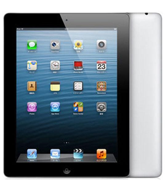 【中古】【安心保証】 iPad-9.7_4[SIMフ16G] ブラック