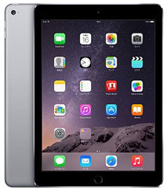 【中古】【安心保証】 iPadAir-9.7_2[64G] グレイ