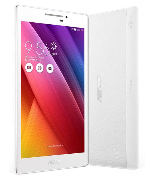 【中古】【安心保証】 ZenPad 7.0[WIFI16G] ホワイト