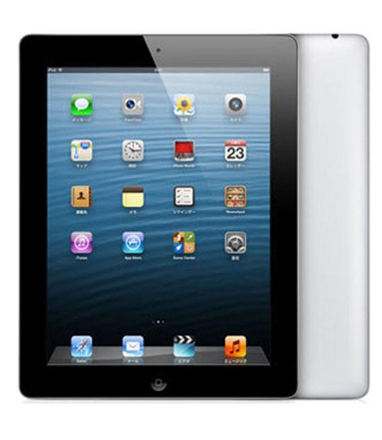 【中古】【安心保証】 au iPadRetina 4[セルラー32GB] ブラック