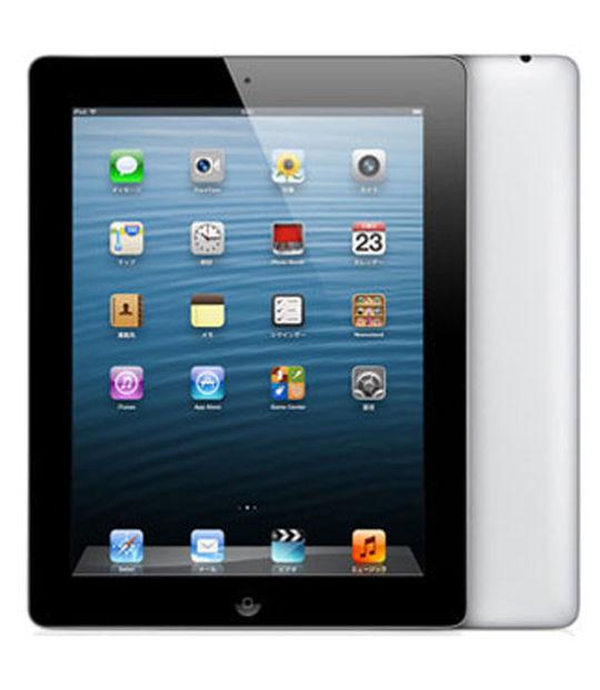 【中古】【安心保証】 SoftBank iPad-9.7_4[セルラー64G] ブラック