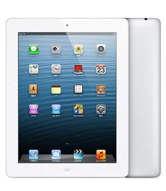 【中古】【安心保証】 SoftBank iPadRetina 4[セルラー64G] ホワイト