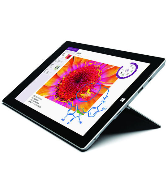 [Office有] Surface 3 128GB ワイモバイル(シルバー)