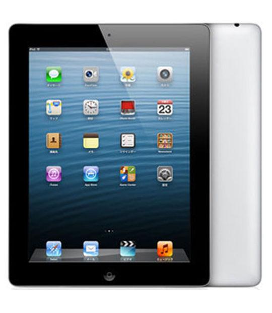 【中古】【安心保証】 SoftBank iPadRetina 4[セルラー32G] ブラック