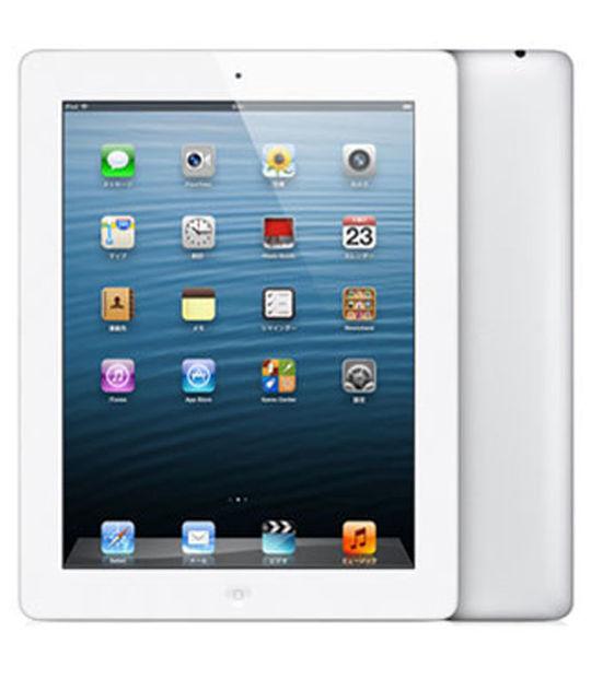 【中古】【安心保証】 SoftBank iPadRetina 4[セルラー32G] ホワイト