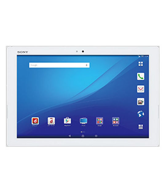 Sony Moble ドコモXperia Z4 Tablet SO-05G(ホワイト)