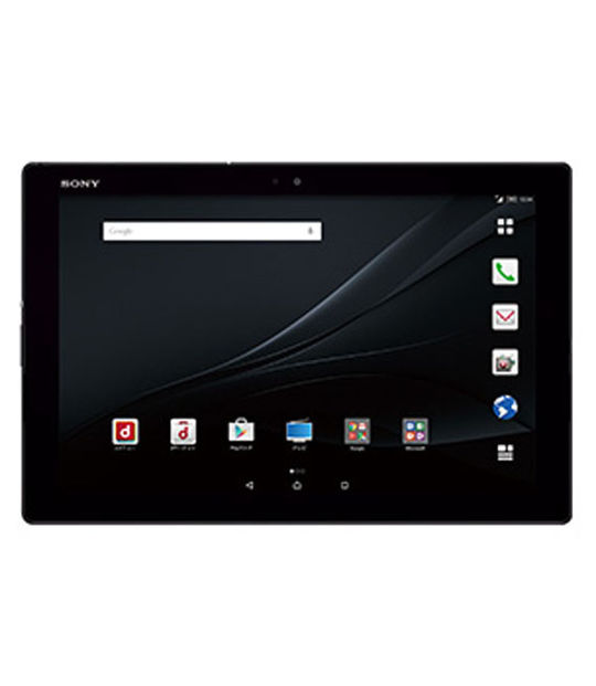 Sony Moble ドコモXperia Z4 Tablet SO-05G(ブラック)