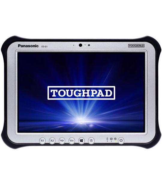 [Office有] TOUGHPAD FZ-G1R3001VJ NTTドコモ対応ワイヤレスWANモデル 128GB(シルバー)