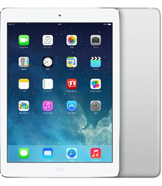 【中古】【安心保証】 SoftBank iPadAir_1[セルラー16GB] シルバー