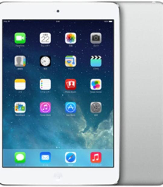 【中古】【安心保証】 au iPadmini2[セルラー64G] シルバー