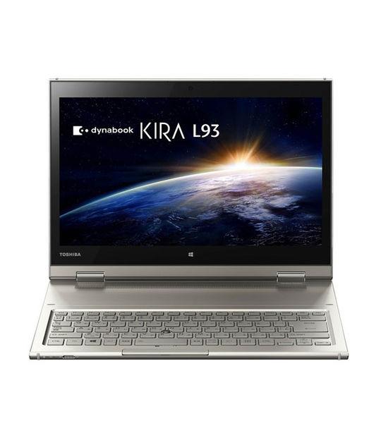 [Office有]TOSHIBA dynabook KIRA L93 L93/PG PL93PGP-ZHA 256GB(サテンゴールド)
