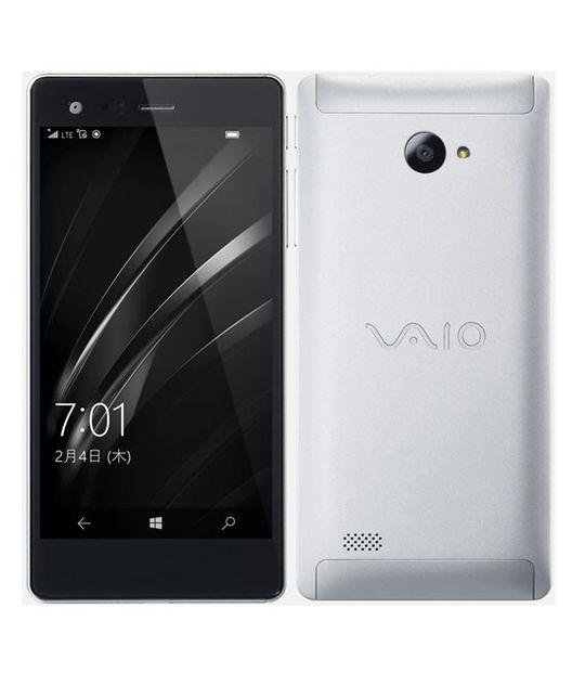 【中古】【安心保証】 SIMフリー VAIOPhoneBiz[16GB] シルバー