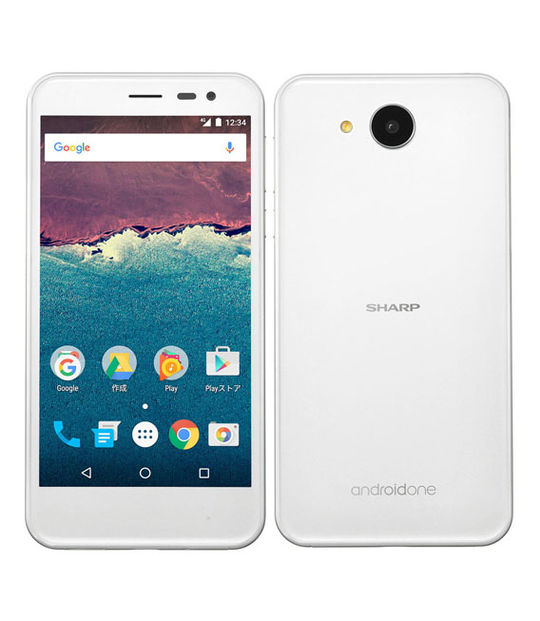 【中古】【安心保証】 Y!mobile Android One 507SH ホワイト