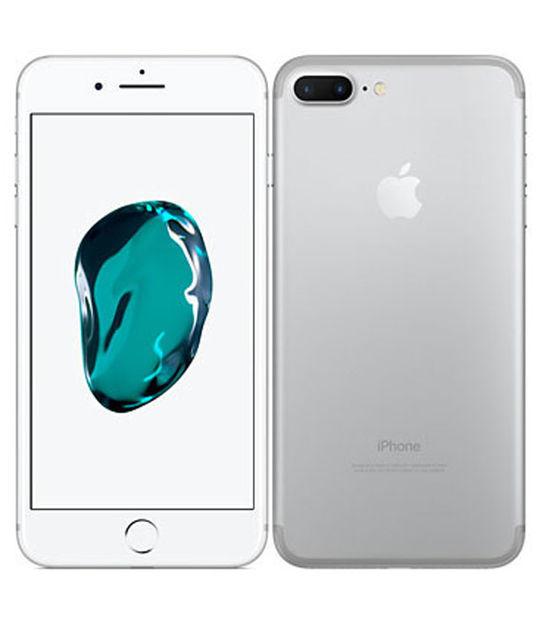 【中古】【安心保証】 au iPhone7Plus[32G] シルバー SIMロック解除済