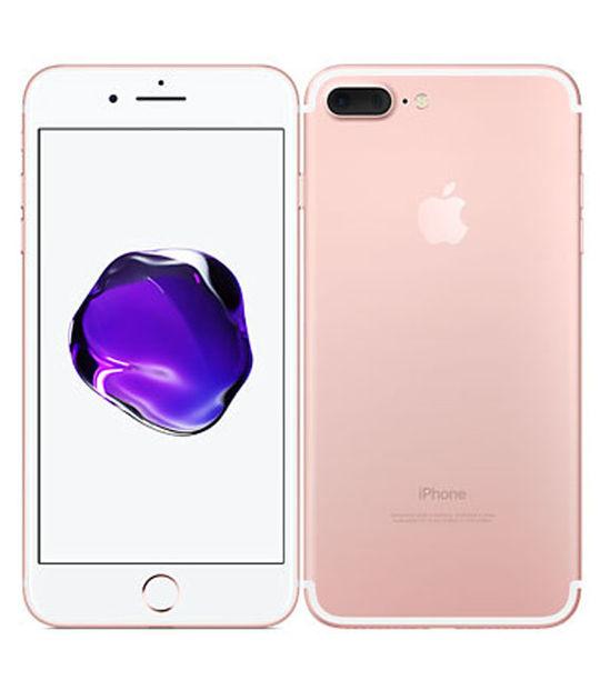 【中古】【安心保証】 au iPhone7Plus 32GB ローズゴールド