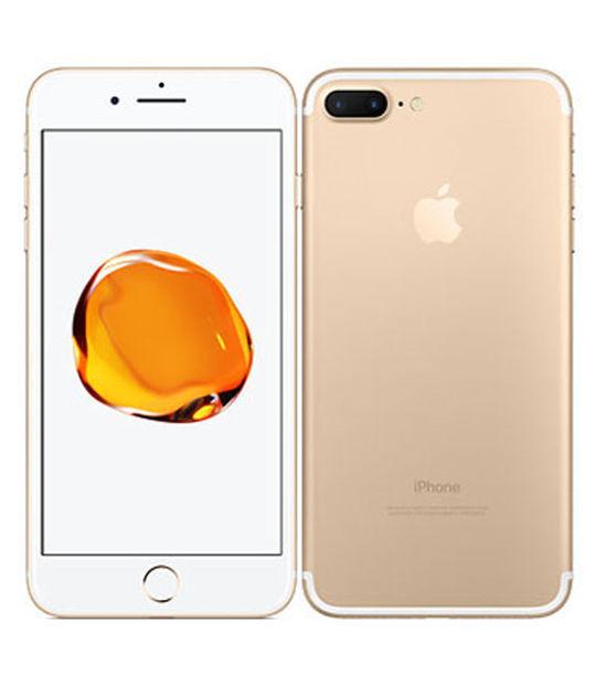 【中古】【安心保証】 SIMフリー iPhone7Plus[32G] ゴールド