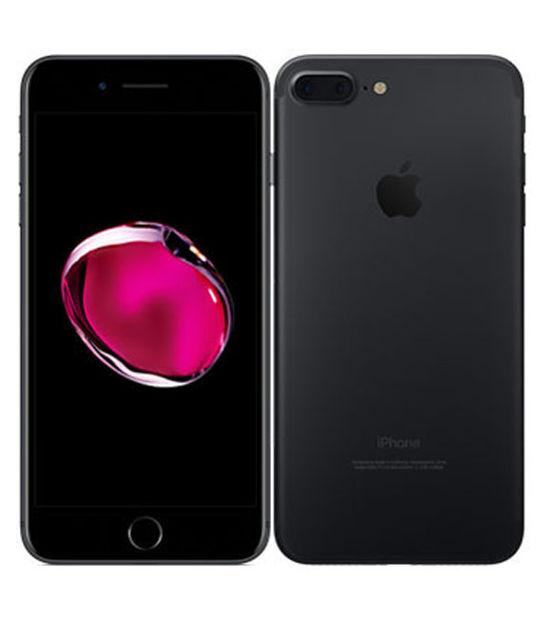 【中古】【安心保証】 au iPhone7Plus 256GB ブラック SIMロック解除済