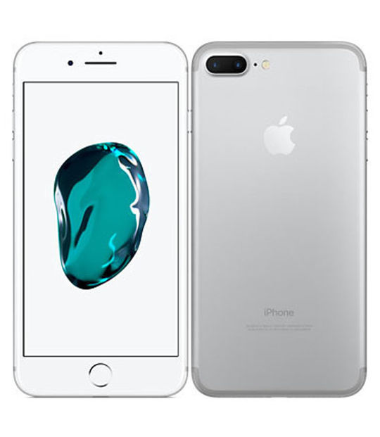 【中古】【安心保証】 SIMフリー iPhone7Plus 256GB シルバー