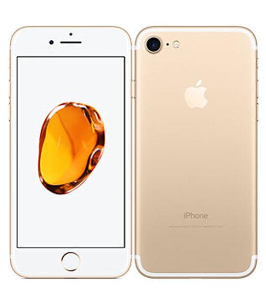 【中古】【安心保証】 SIMフリー iPhone7 256GB ゴールド