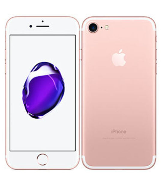 【中古】【安心保証】 SIMフリー iPhone7 256GB ローズゴールド