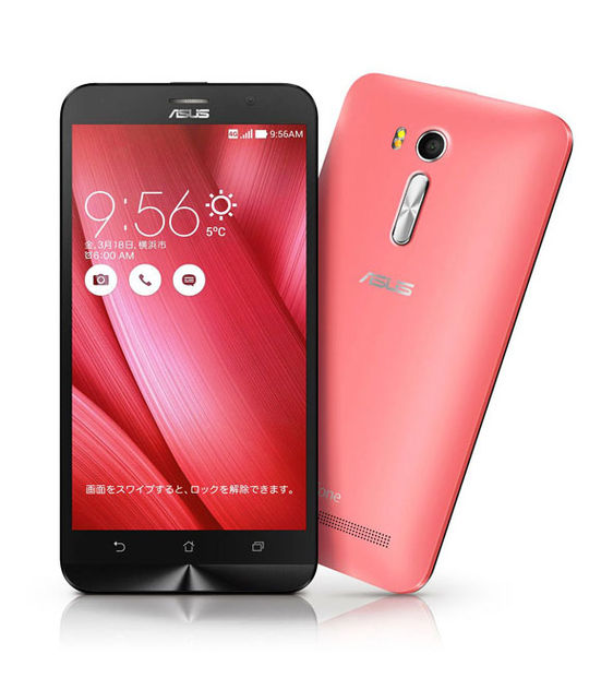 【中古】【安心保証】 SIMフリー ZenFoneGo[16G] ピンク