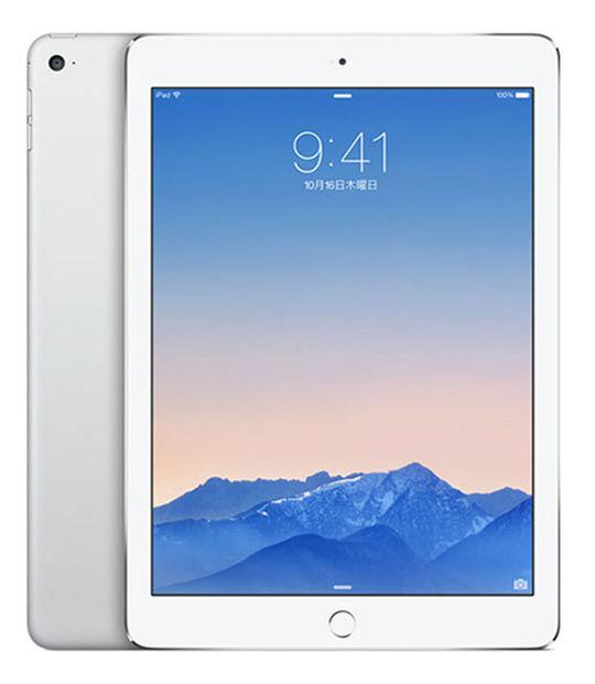 【中古】【安心保証】 au iPadAir2 WiFi+4G 32GB シルバー