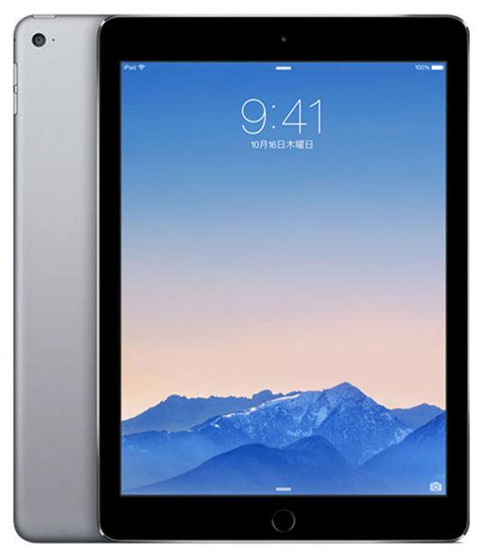 【中古】【安心保証】 SoftBank iPadAir2 WiFi+4G 32GB スペースグレイ