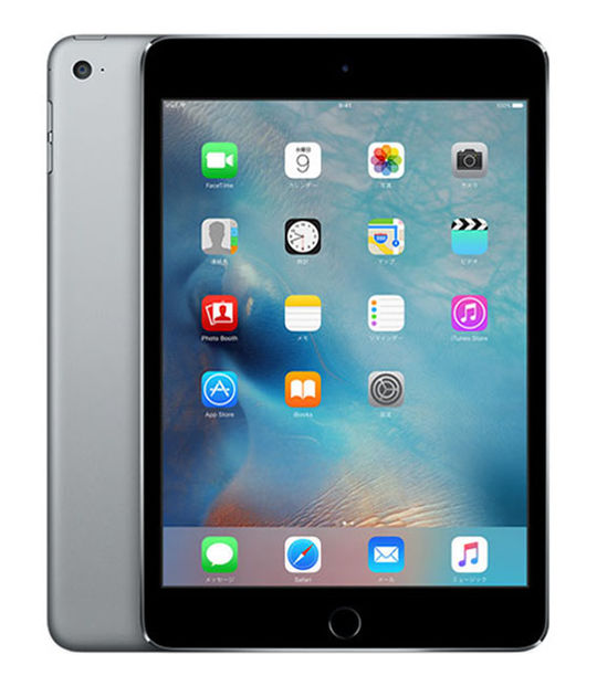 iPadmini4 Wi-Fi 32GB(グレイ)
