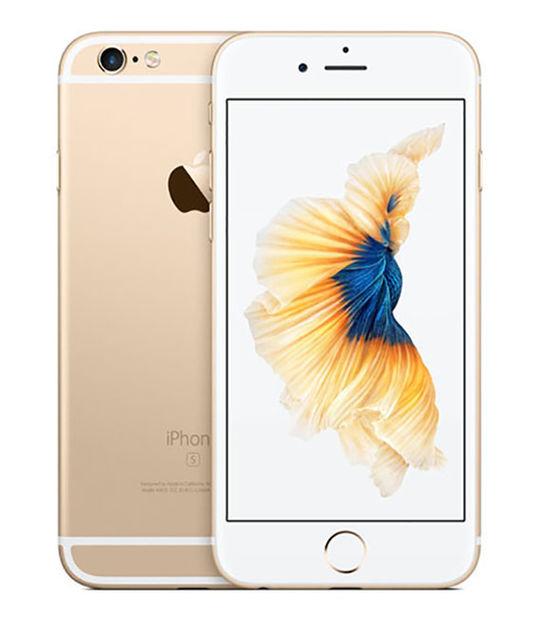 【中古】【安心保証】 SIMフリー iPhone6s[128G] ゴールド