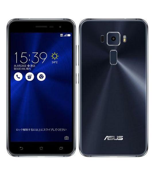 【中古】【安心保証】 SIMフリー ZenFone3[32G] ブラック
