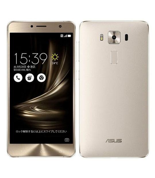 【中古】【安心保証】 SIMフリー ZenFone 3 Deluxe 64GB シルバー