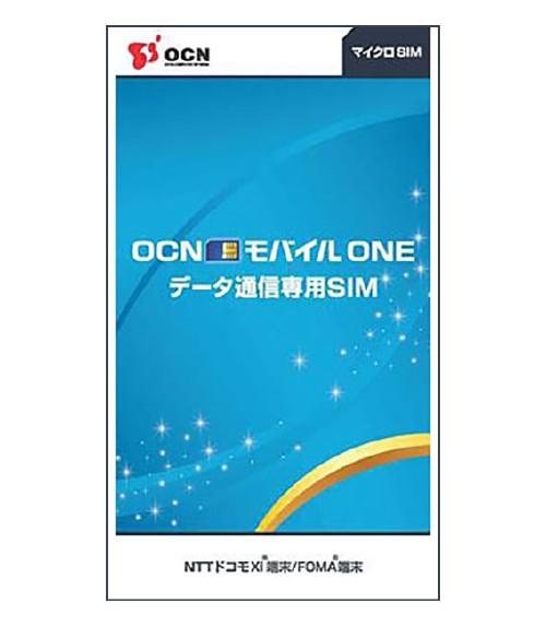 シム OCNモバイルONE データ通信専用SIMカードマイクロSIM