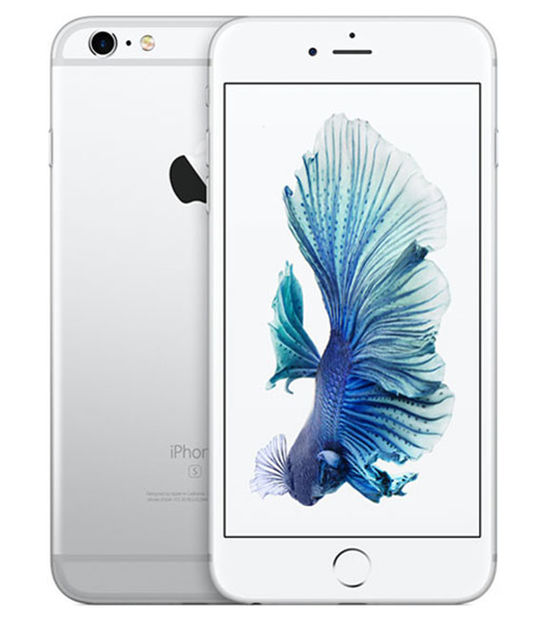 【中古】【安心保証】 SIMフリー iPhone6sPlus[海外64G] シルバー