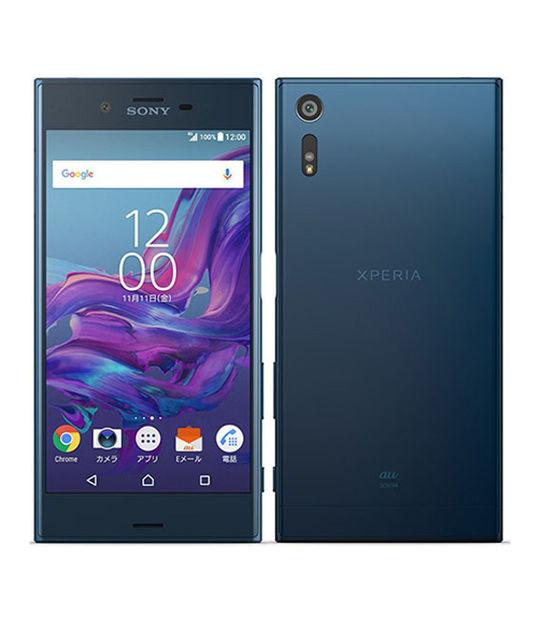 【中古】【安心保証】 au Mobile XperiaXZ SOV34