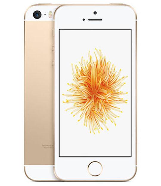 【中古】【安心保証】 au iPhoneSE 16GB ゴールド SIMロック解除済