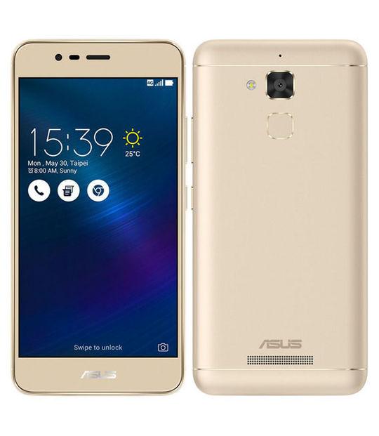 【中古】【安心保証】 SIMフリー ZenFone3Max ZC520TL[16GB] ゴールド